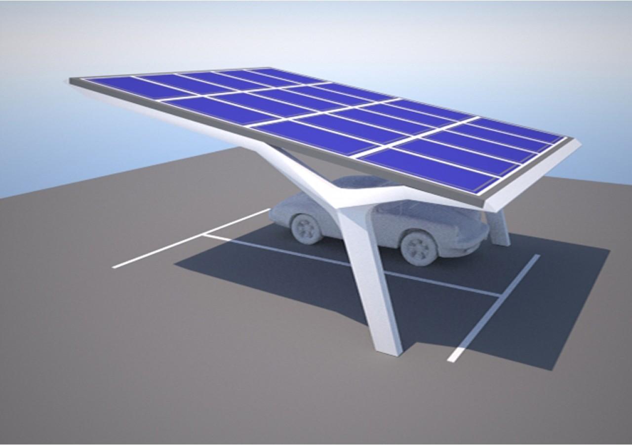 Solar Carport For Pct Dubai Grobe Architekten De